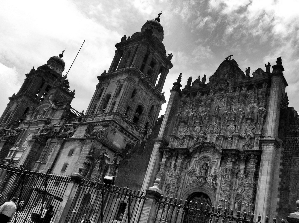 La Catredal of Mexico City