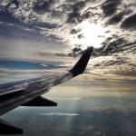Window seat view over Texas!