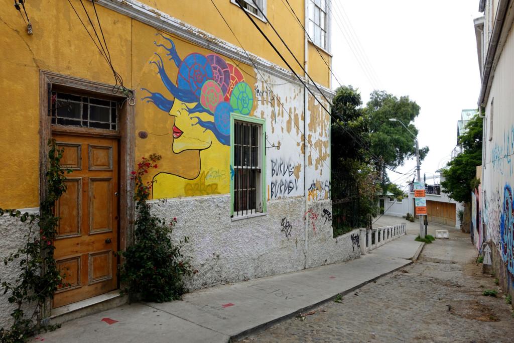 Street art of Valparaiso, Chile