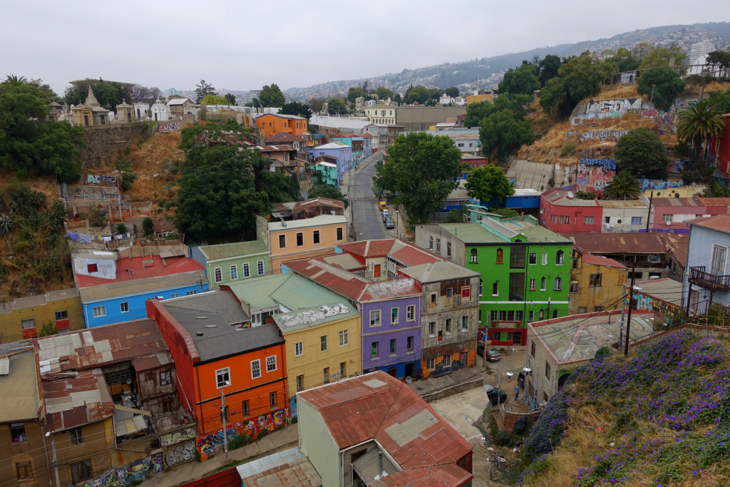 View of Valparaiso, Chile