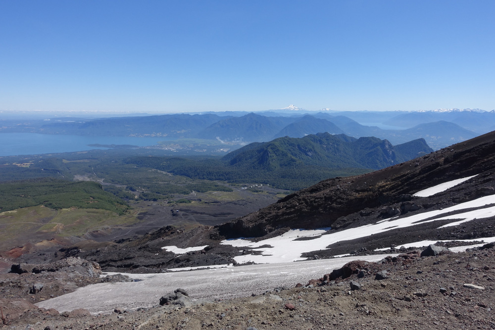 View from Volcano Villarica