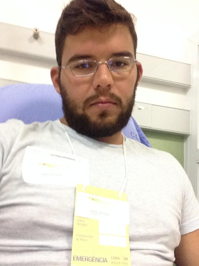 Sick in Brazil
