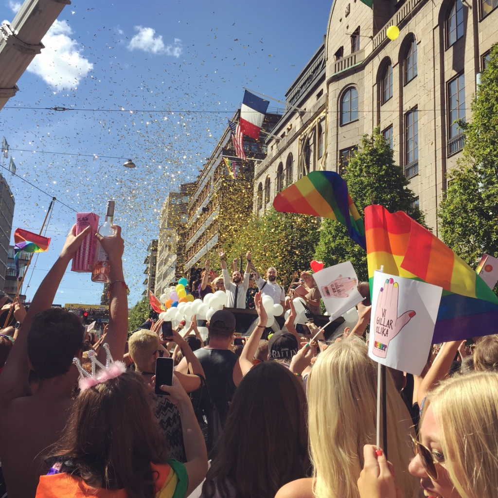 Stockholm Gay Pride. #outinstockholm #mygaypride