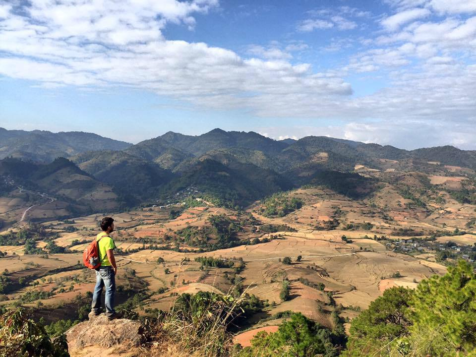 3 day hike between Kalow & Inle Lake, Myanmar