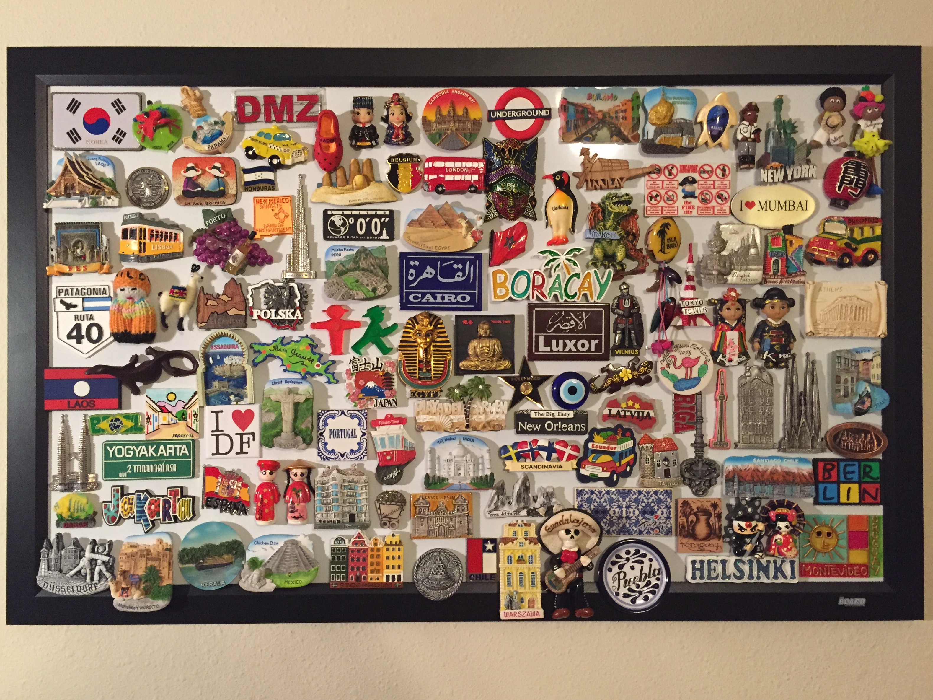 Travel Magnet Collection